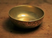 meditation brass bowl